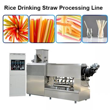 High Efficiency Automatic Spaghetti Straws Extruder With Low Energy