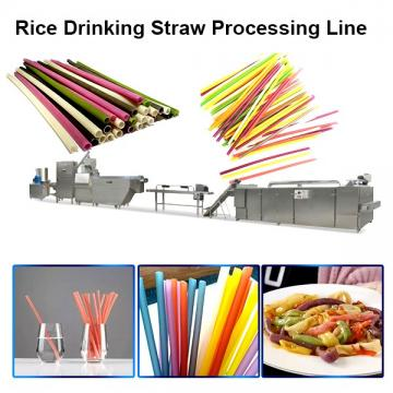 High Efficiency Automatic Pasta Drinking Straws Extruder With Smart Control