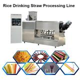 Adjustable 180kg/h Production Capacity Pasta Straw Tube Processing Line